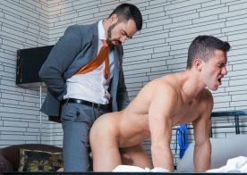"Men At Play: Dolan Wolf fucks tied-up bachelor Marco Rubi in ""Just Fucked"" (Editor's Cut)"
