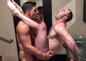 Next Door Studios: Dalton Riley pounds Michael Boston's ass in a homemade video