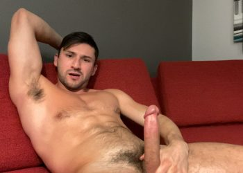 "Pride Studios: Scott Demarco strokes his hard dick in ""That Release You Want"""