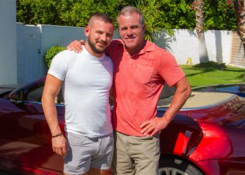 "Masqulin: Dale Savage raw-fucks Sean Harding in ""Stepdad's Car"""