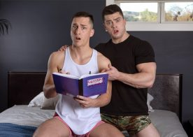 "Next Door Taboo: Tristan Hunter gets fucked by stepbrother Collin Simpson in ""Dear Journal"""