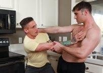 """Next Door Taboo: Lance Ford bottoms for Michael Boston in """"Taking A Shot At My Step Brother"""""""