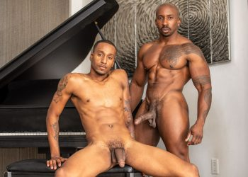 "Noir Male: Titus McMasters gets fucked by Max Konnor in ""Business Trip Bang"""