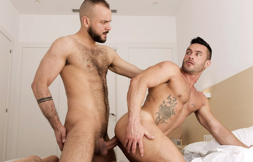 Fuckermate: Andy Star gets fucked raw by Sir Peter and receives a creamy facial