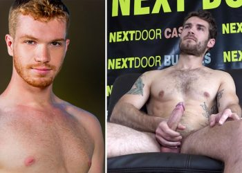 Jack Ryan jerks off on the casting couch and Dacotah Red becomes Next Door exclusive