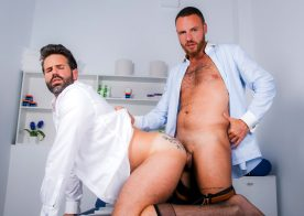 "Men At Play: Leo Rosso barebacks Dani Robles in ""Doctor's Examination"""