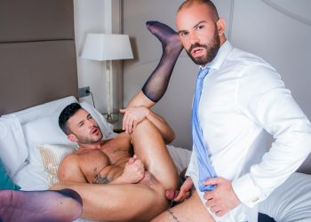 Men At Play: Bruno Max fucks his roommate's boyfriend Andy Star