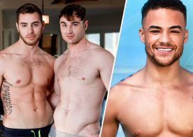 "Carter Woods & Michael Boston in ""House Boys"". Next Door signs Beaux Banks as exclusive"