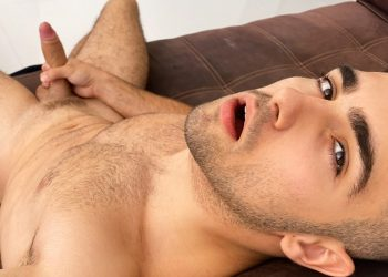 Sean Cody: French hottie Thony Grey strokes his beautiful uncut cock