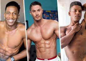 Solo Performances: AJ Blackwood, Skyy Knox and Adrian Hart jerk off