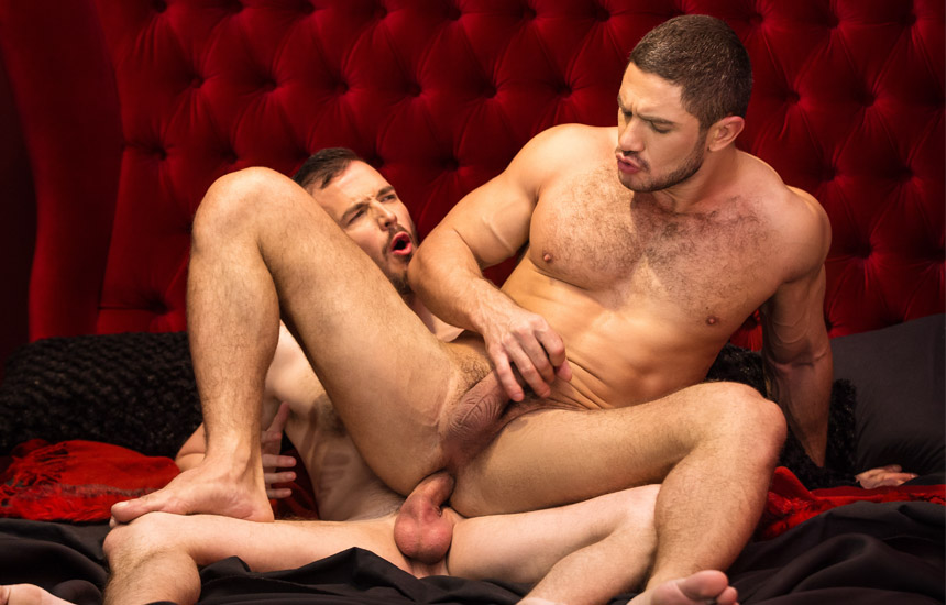 """Franky Fox and Dato Foland take each other's raw cocks in """"Undressed"""""""