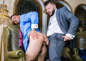 "Leo Grin debuts at Men At Play and fucks Joe Gillis in ""Wet Party Planner"""