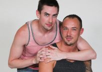 """Family Dick: Kirk Cummings bottoms for Jack Hunter in """"Perfect Gift For Dad"""""""