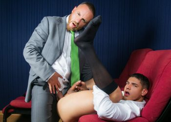 "Men At Play: Leo Rosso pounds Bastian Karim's greedy hole in ""Cine-X Chill & Play"""