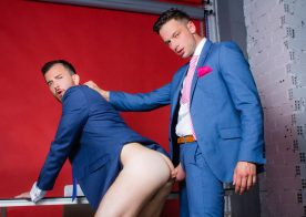 "Men At Play: Franky Fox gets fucked by his boss Damon Heart in ""Lights, Camera, Action"""