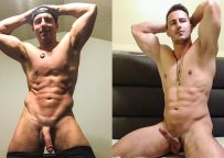 """MEN: Joey Steel jerks off with porn coach Reese Rideout in """"Casting Cam"""""""