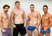 """Johnny Rapid and Jax Thirio fuck Michael Boston and Kyle Connors in """"Nashville Nookie"""""""