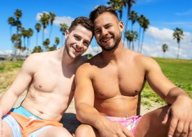Sean Cody: Robbie gives Josh a raw pounding and cums in his face