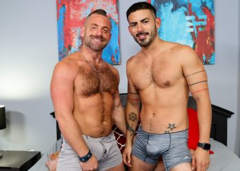 """Pride Studios: Jacob Woods takes a pounding from Cesar Rossi in """"Sex Is Good For Your Health"""""""