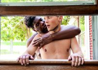 """MEN: Ty Shine fucks Bruno Cartella and cums in his face in """"Stuck In The Window"""""""
