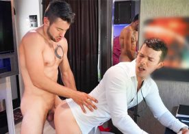 """Men.com: Nic Sahara gets his ass fucked by Dante Colle in """"Thirst Impressions"""""""