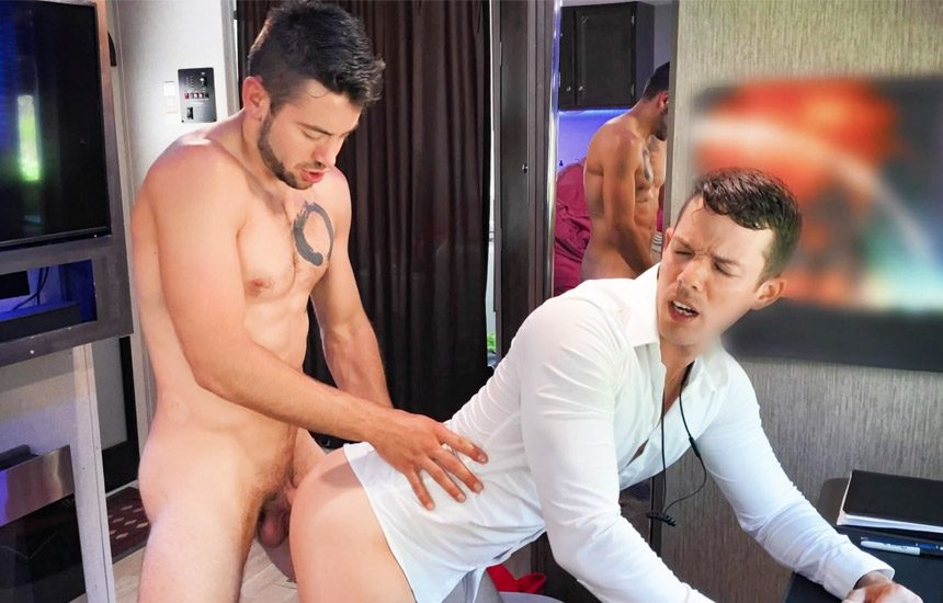 "Men.com: Nic Sahara gets his ass fucked by Dante Colle in ""Thirst Impressions"""