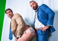 "Men At Play: Xavi Garcia pounds Dani Robles' bare ass in ""Upfront Payment"""