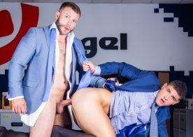 "Men At Play: Power bottom Bastian Karim gets fucked by Diego Reyes in ""Will Not Take No"""