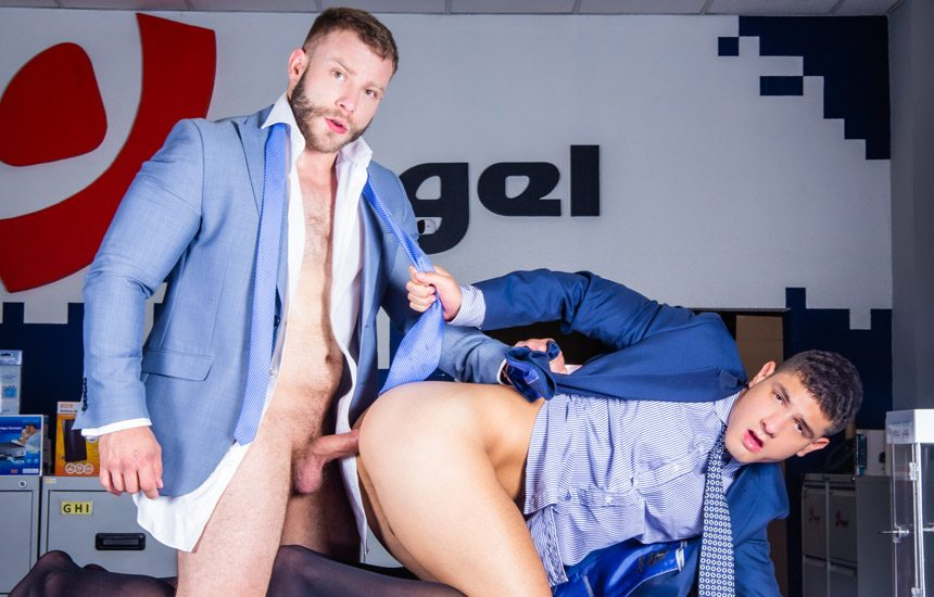 """Men At Play: Power bottom Bastian Karim gets fucked by Diego Reyes in """"Will Not Take No"""""""