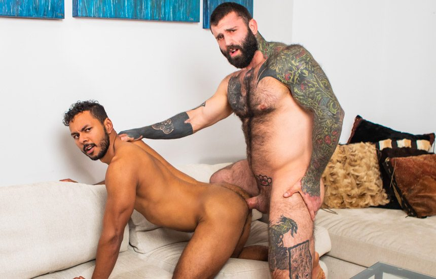 "Masqulin: Newcomer Milo Madera gets fucked by Markus Kage in ""Truth Or Dare"""