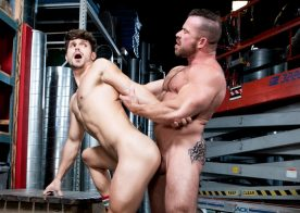 "Raging Stallion: Liam Knox plows Devin Franco's ass in ""Pipe Fitters"" (scene 3)"