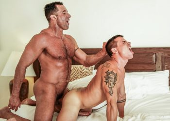 "Lucas Entertainment: Brent Everett & Nick Capra fuck in ""Quality Time With Daddy"" (scene 1)"