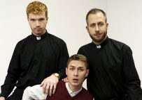 """Yes Father: Zak Bishop and Joel Someone fuck Dacotah Red in """"Surprise Inspection"""""""