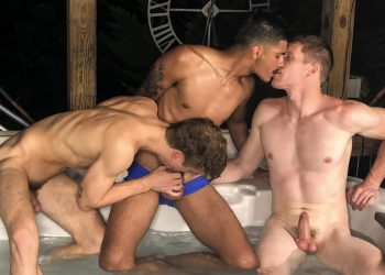 "Brother Crush: Apollo Fates, Jesse Bolton & Aiden Asher fuck in ""3 Stepbrothers In A Jacuzzi"""