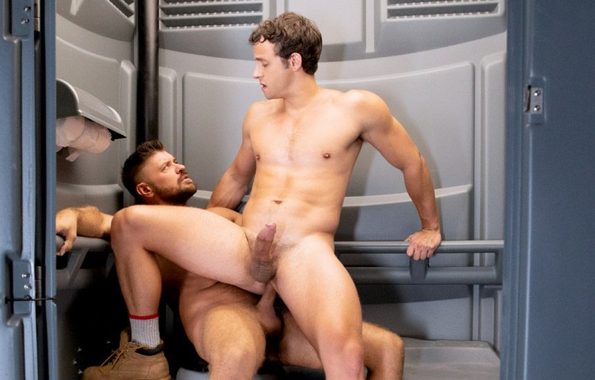 "Raging Stallion: Nate Grimes gets fucked by Jack Andy in ""Caulk Job"" (scene 2)"