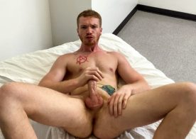 "Next Door Studios: Dacotah Red rubs out three creamy loads in ""Big Red's Triple Cum Day"""