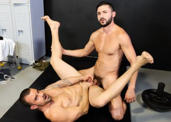 "Pride Studios: Damien Crosse gets fucked by Scott Demarco in ""Pounded By Big Dicked Boxer"""
