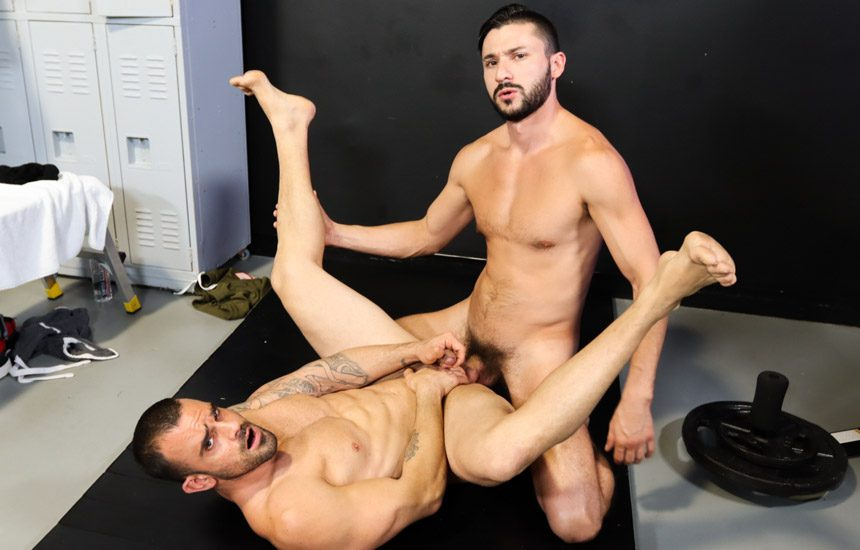"""Pride Studios: Damien Crosse gets fucked by Scott Demarco in """"Pounded By Big Dicked Boxer"""""""