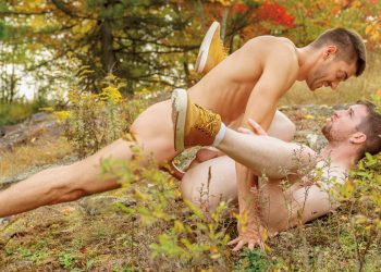 "Falcon Studios: Raphael Louis raw-fucks Thyle Knoxx in ""Into The Woods"" (scene 4)"