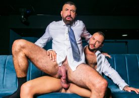 "Men At Play: Joe Casio gets fucked by Sir Peter and his big dick in ""Strip Poker"""