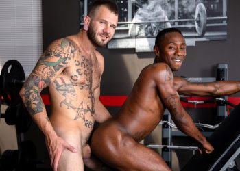 """Next Door Studios: Miller Axton gets fucked by Johnny Hill in """"Sweat It Out"""""""