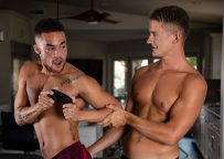 """Next Door Taboo: Brandon Anderson fucks his stepbrother Beaux Banks in """"Leave Me Alone"""""""