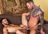 """Lucas Entertainment: Alex Mason gets fucked by Dylan James in """"Bust A Nut"""" (scene 2)"""