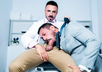 "Men At Play: Doctor Leo Rosso fucks Joe Gillis in ""Rectal Examination"""