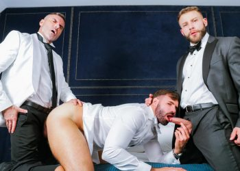 "Men At Play: Dani Robles, Diego Reyes, and Manuel Skye fuck in ""Threeway Celebration"""
