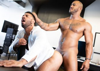 "Raging Stallion: Jason Vario goes balls deep into Mateo Zagal in ""My Boss Is A Dick"" (scene 5)"
