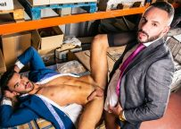"""Men At Play: Newcomer Pol Prince and Leo Rosso flip-fuck in """"Are You Done?"""""""