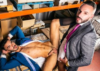 "Men At Play: Newcomer Pol Prince and Leo Rosso flip-fuck in ""Are You Done?"""
