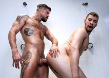 "Raging Stallion: Newcomer Eman Zod gets fucked by Sean Maygers in ""Scrum"" (scene 3)"