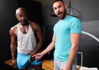 """Pride Studios: Blake Houston gets fucked by Aaron Trainer in """"My Dick Has A Mind Of Its Own"""""""